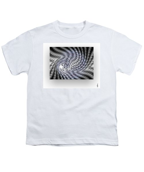 Youth T-Shirt featuring the digital art Lumiere by Mihaela Stancu