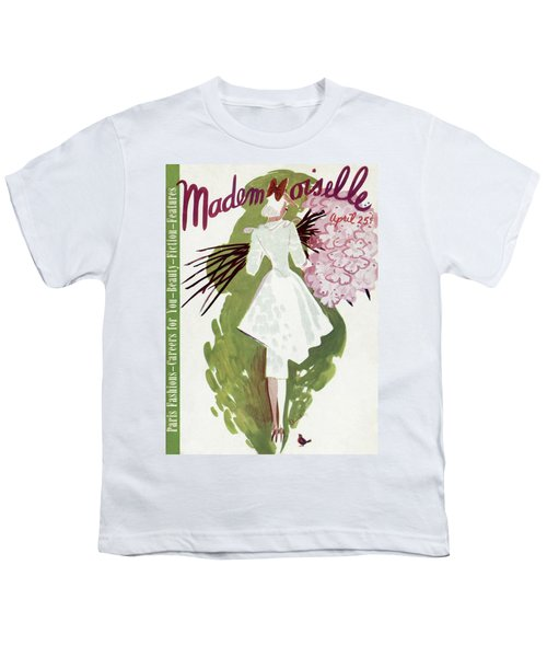 Mademoiselle Cover Featuring A Woman Carrying Youth T-Shirt