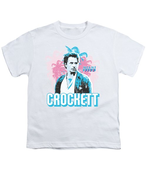 Miami Vice - Crockett Youth T-Shirt