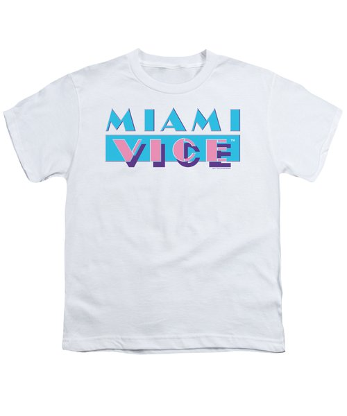 Miami Vice - Logo Youth T-Shirt