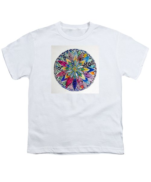Spring Mandala Youth T-Shirt
