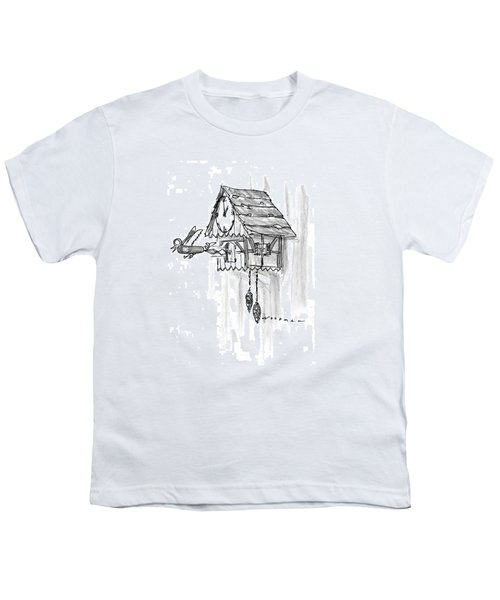 New Yorker February 10th, 1997 Youth T-Shirt by Bill Woodman
