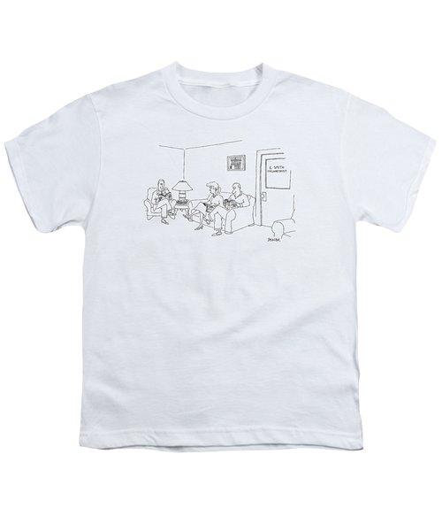 New Yorker May 12th, 1997 Youth T-Shirt by Jack Ziegler