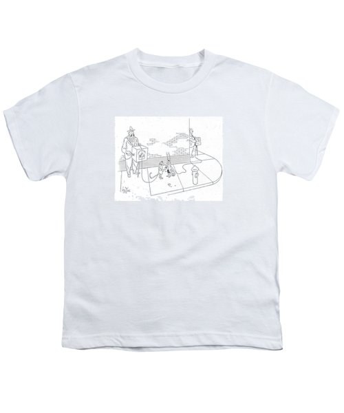 New Yorker May 22nd, 1943 Youth T-Shirt by George Price