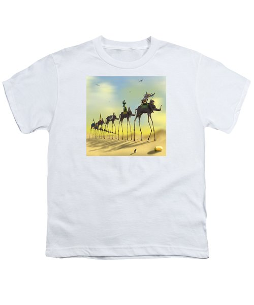On The Move 2 Without Moon Youth T-Shirt by Mike McGlothlen