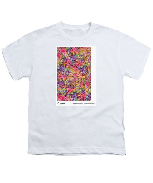 Organic Brights, A Digital Collage By Youth T-Shirt