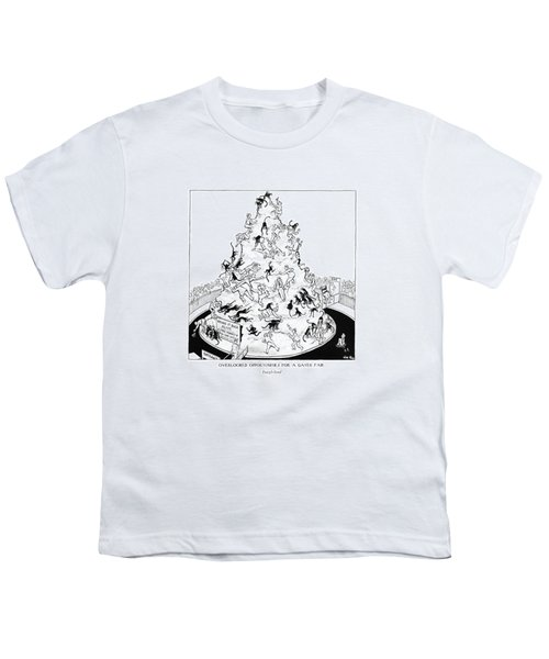 Overlooked Opportunities For A Gayer Youth T-Shirt by Carl Rose
