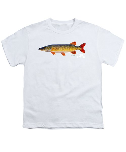 Pike Youth T-Shirt by Carey Chen