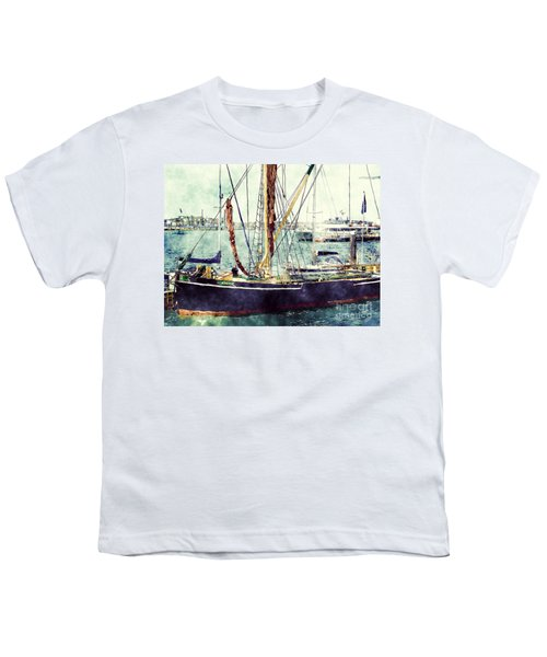 Portsmouth Harbour Boats Youth T-Shirt