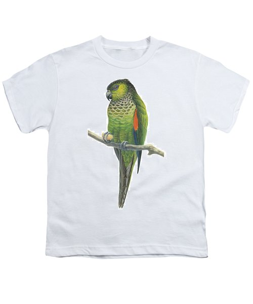 Rock Parakeet Youth T-Shirt by Anonymous