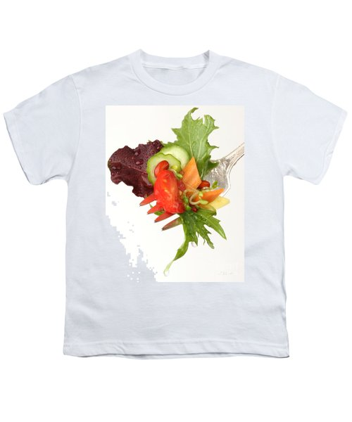 Silver Salad Fork Youth T-Shirt