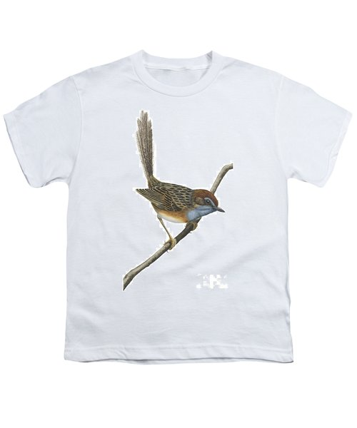 Southern Emu Wren Youth T-Shirt by Anonymous