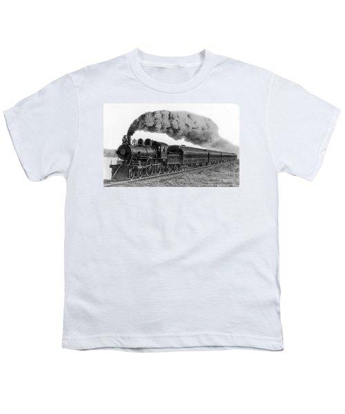 Steam Locomotive No. 999 - C. 1893 Youth T-Shirt