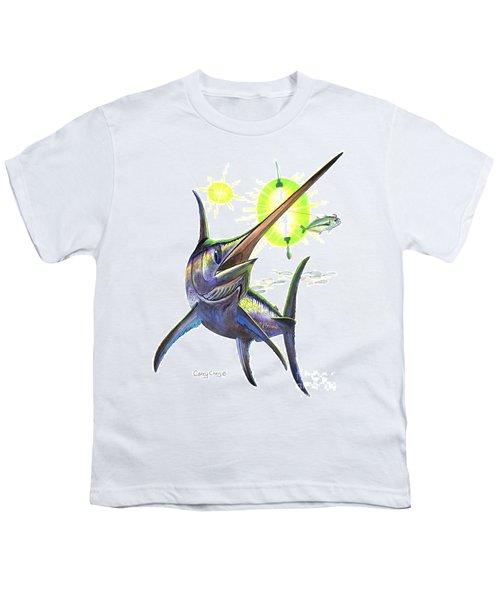 Swordfishing Youth T-Shirt