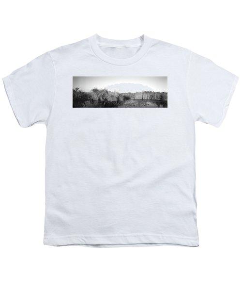 Tall Grass At The Lakeside, Anhinga Youth T-Shirt