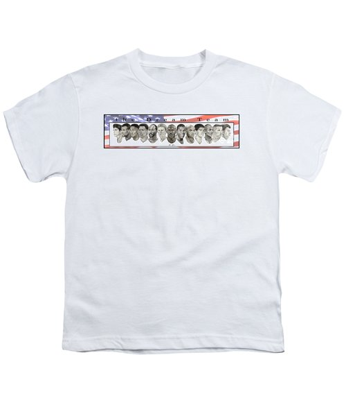 the Dream Team Youth T-Shirt by Tamir Barkan