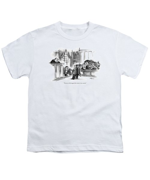 The Jury Will Disregard The Witness's Last Youth T-Shirt