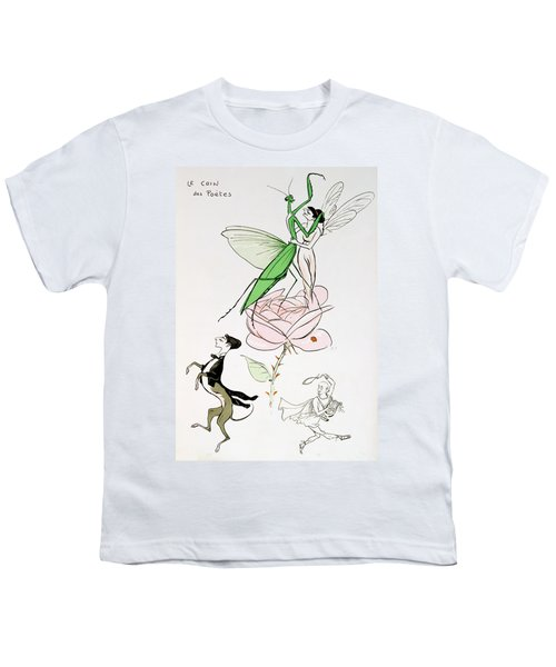 The Poets Corner Youth T-Shirt by Sem