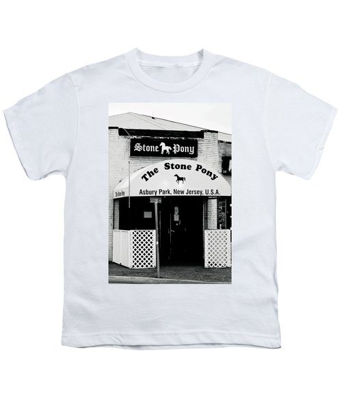 The Stone Pony Asbury Park Nj Youth T-Shirt by Terry DeLuco