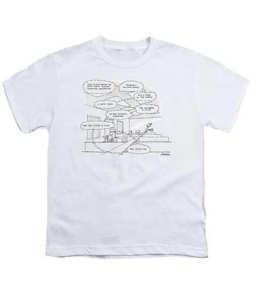 The Thought Bubbles Of A Man In A Diner: That Youth T-Shirt