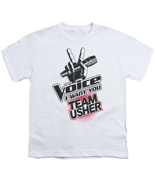 The Voice - Team Usher Youth T-Shirt by Brand A