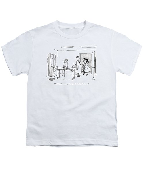 There Has Been A Sharp Increase Youth T-Shirt