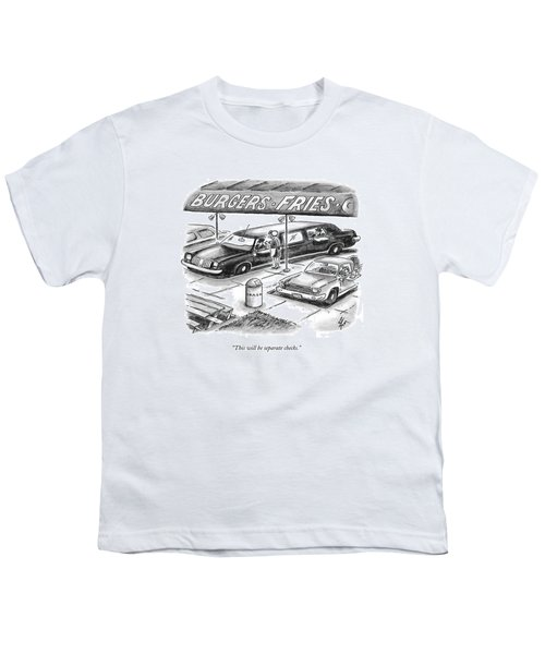 This Will Be Separate Checks Youth T-Shirt