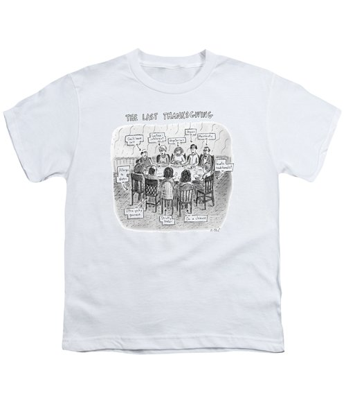 The Last Thanksgiving Youth T-Shirt