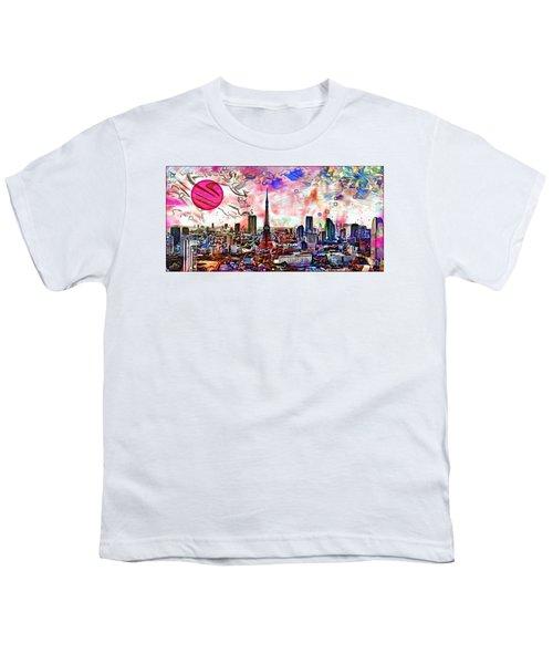 Tokyo Metropolis Youth T-Shirt by Daniel Janda