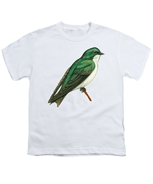 Tree Swallow  Youth T-Shirt by Anonymous
