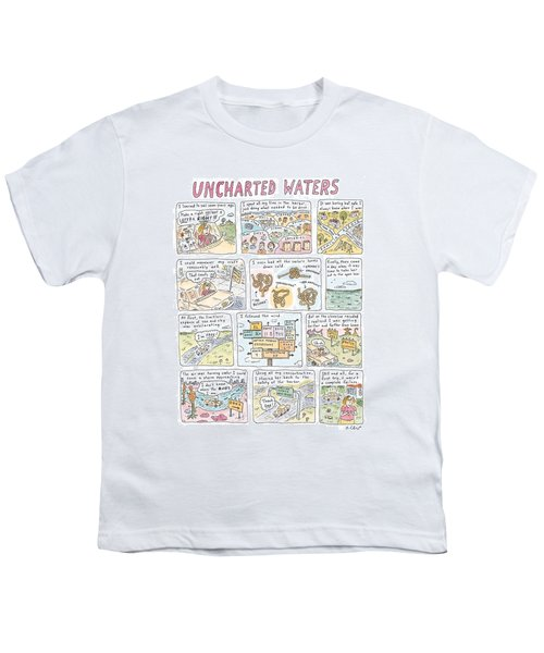 'uncharted Waters' Youth T-Shirt