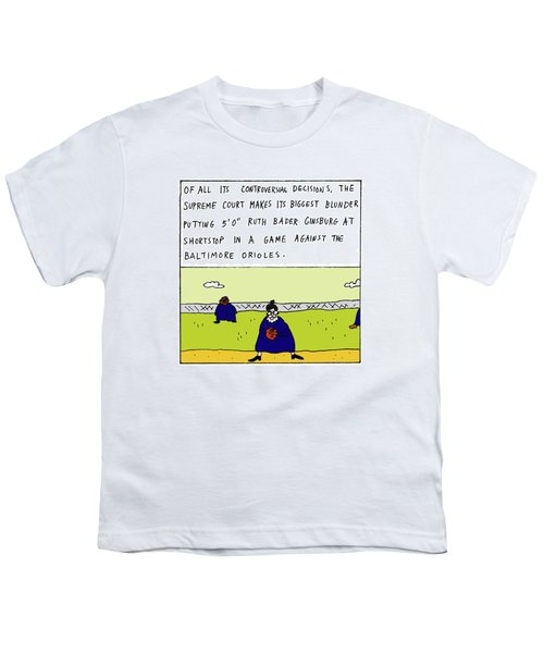 Of All Its Controversial Decisions Youth T-Shirt