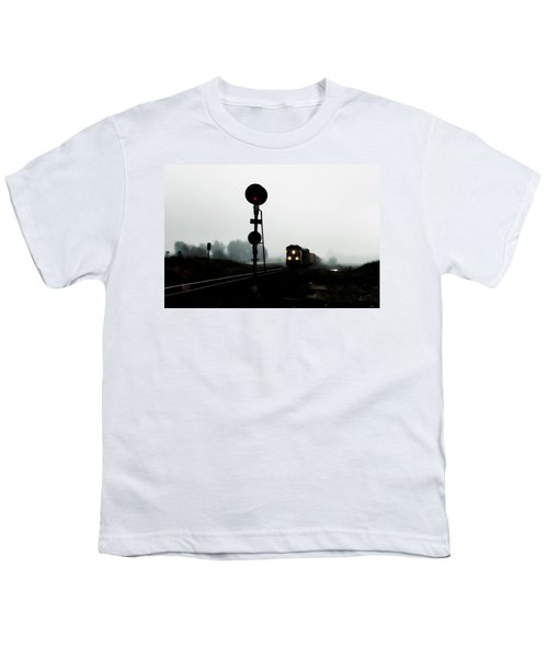 Youth T-Shirt featuring the photograph Up 8057 by Jim Thompson