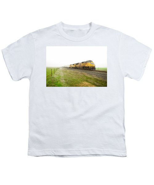 Youth T-Shirt featuring the photograph Up8420 by Jim Thompson