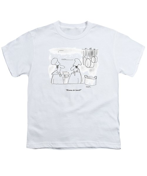 Wanna Do Lunch? Youth T-Shirt