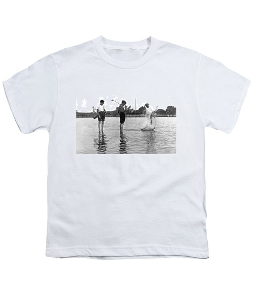 Water Hazard On Golf Course Youth T-Shirt