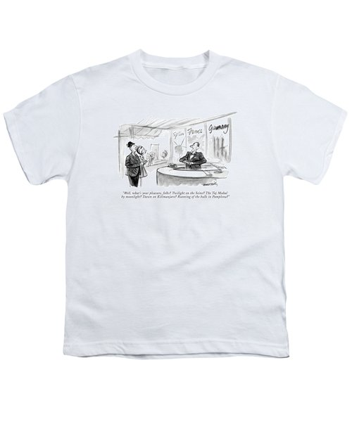 Well, What's Your Pleasure, Folks? Twilight Youth T-Shirt