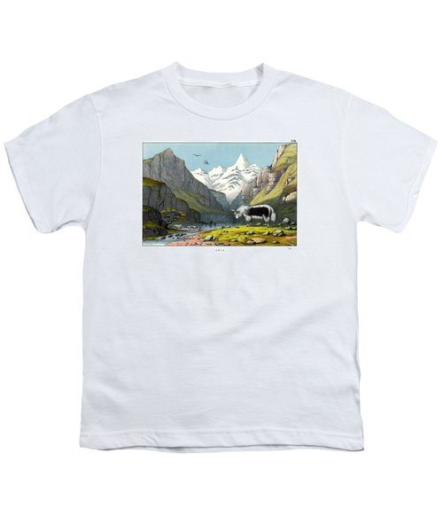 Yak Youth T-Shirt by Splendid Art Prints