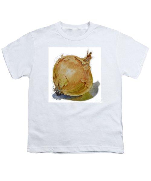 Yellow Onion Youth T-Shirt by Irina Sztukowski