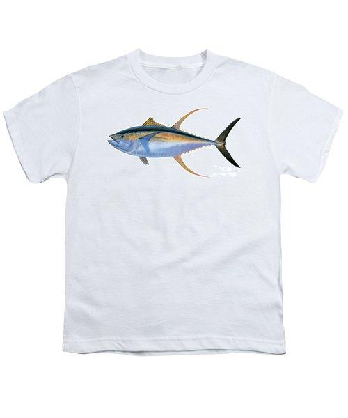 Yellowfin Tuna Youth T-Shirt by Carey Chen
