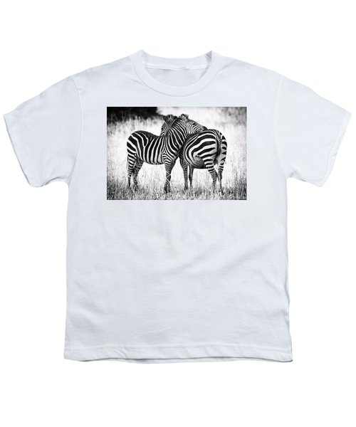 Zebra Love Youth T-Shirt