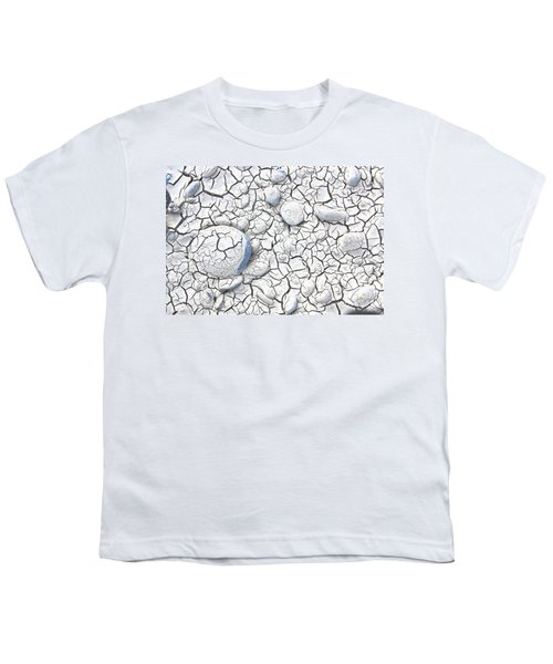 Youth T-Shirt featuring the photograph Cracked Earth by Nareeta Martin