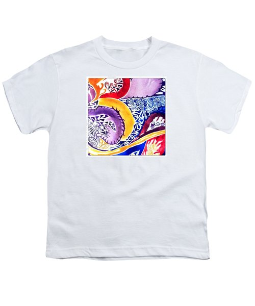 Dreaming In Watercolors Youth T-Shirt
