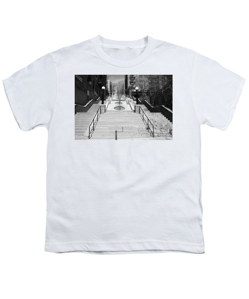 215th Street Stairs Youth T-Shirt
