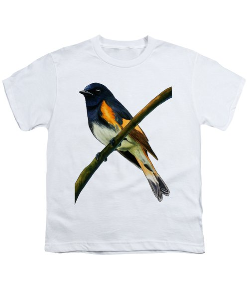 American Redstart Youth T-Shirt