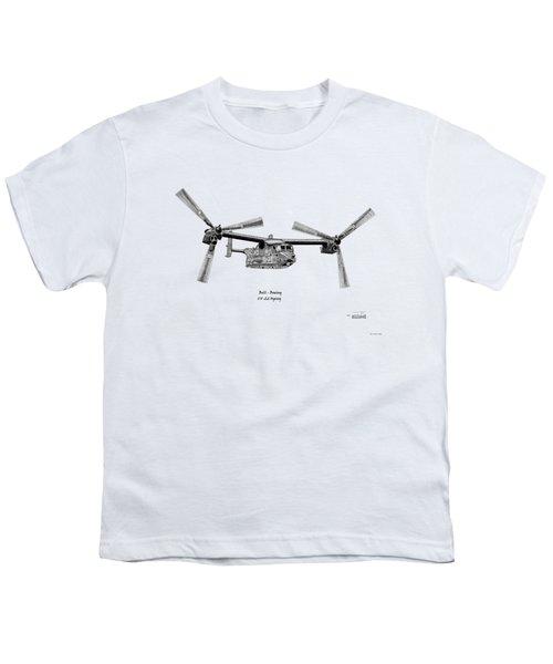 Bell Boeing Cv-22b Osprey Youth T-Shirt