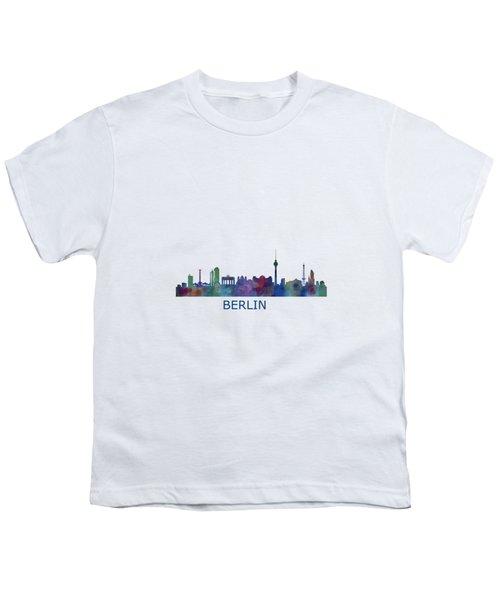 Berlin City Skyline Hq 1 Youth T-Shirt by HQ Photo