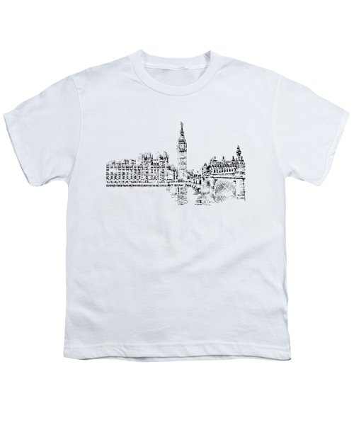 Big Ben Youth T-Shirt by ISAW Gallery