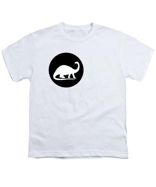Brontosaurus Youth T-Shirt by Mordax Furittus