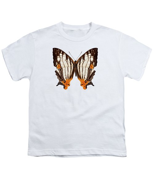 Butterfly Species Cyrestis Lutea Martini Youth T-Shirt
